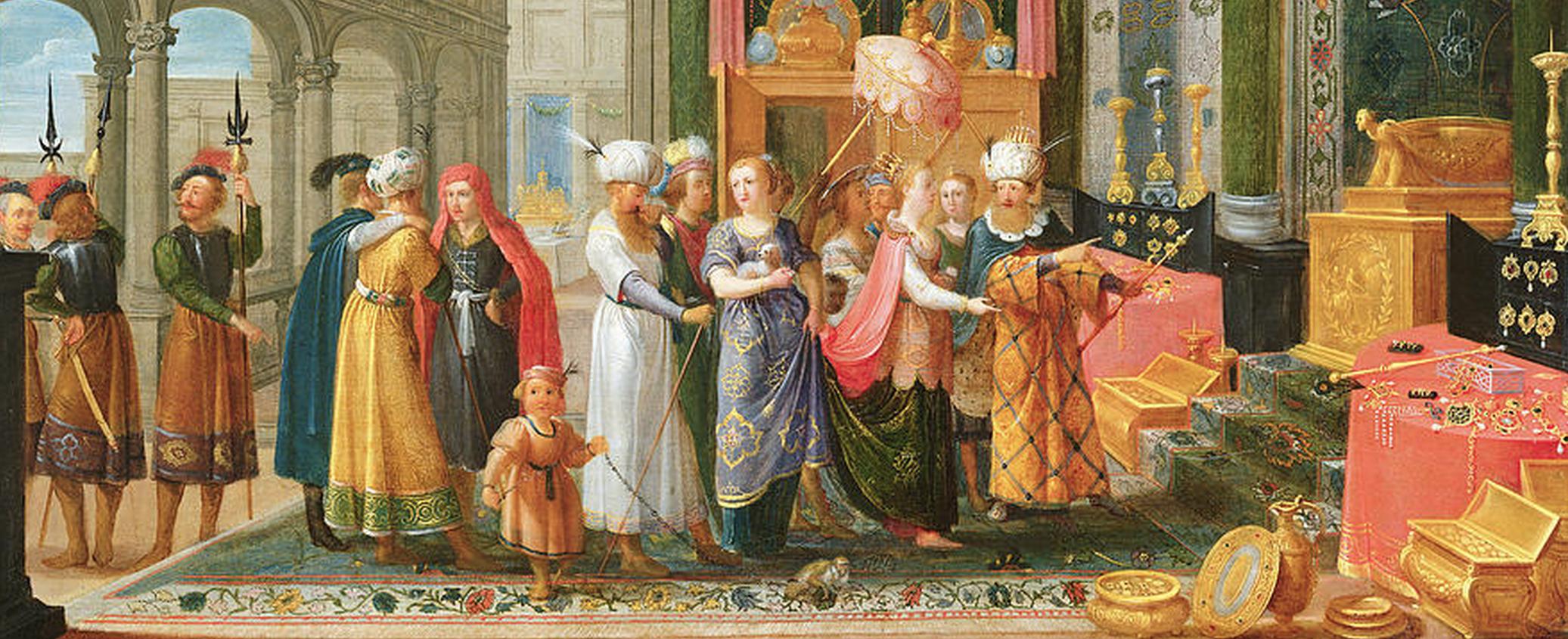 Jewish people painting